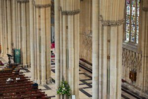 Intelligible speech amidst York Minster's ethereal reverberation with the d&b xC-Series.