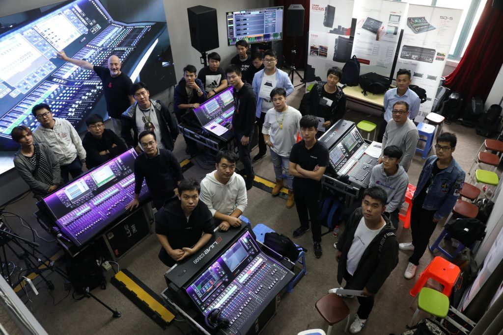 ALLEN & HEATH DELIVERS DLIVE TRAININGS IN CHINA