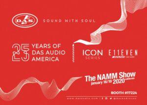 DAS Audio of America Celebrates 25th Anniversary During Winter NAMM 2020