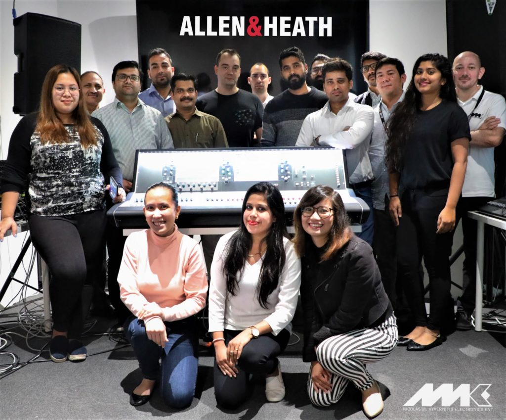 ALLEN & HEATH APPOINTS NMK AS NEW DISTRIBUTOR IN THE MIDDLE EAST