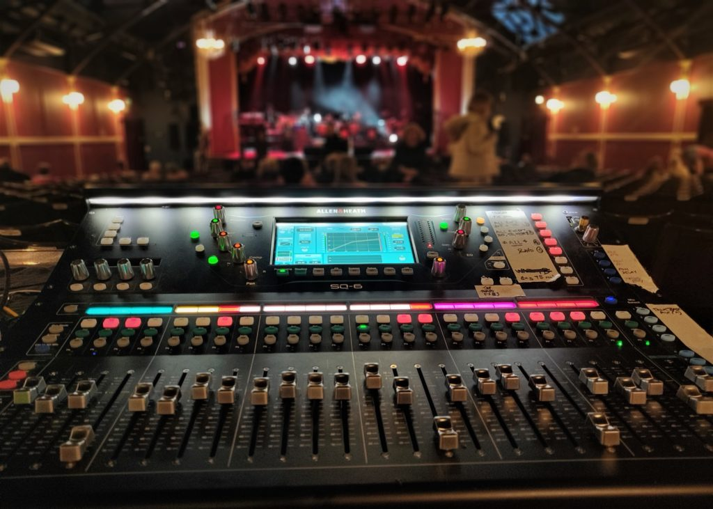 ALLEN & HEATH GAME-CHANGING FOR Q THE MUSIC