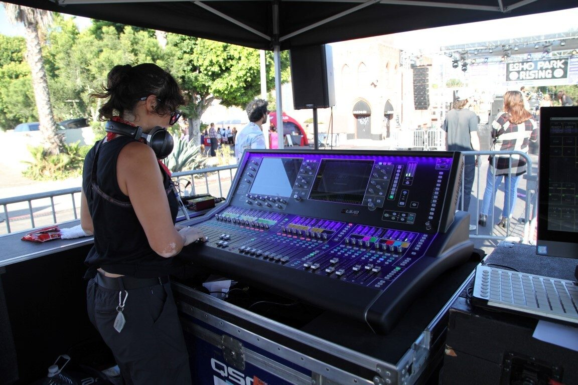 LA'S ECHO PARK RISING WITH ALLEN & HEATH