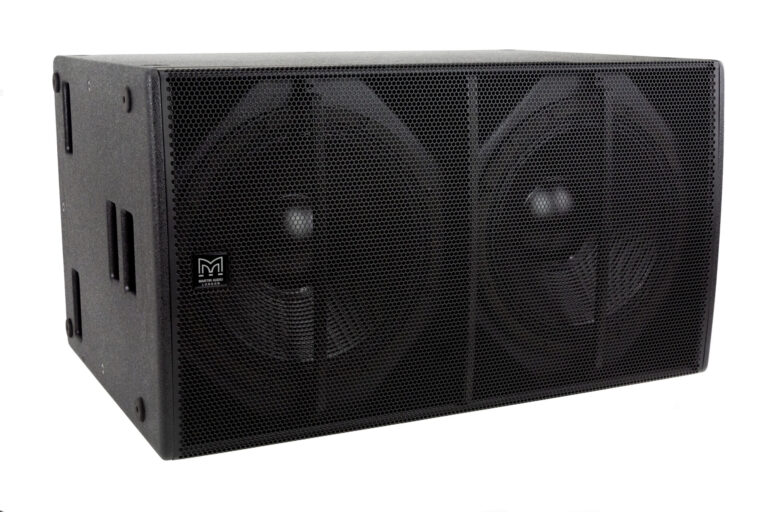 Martin Audio Announces Blackline X218 Subwoofer