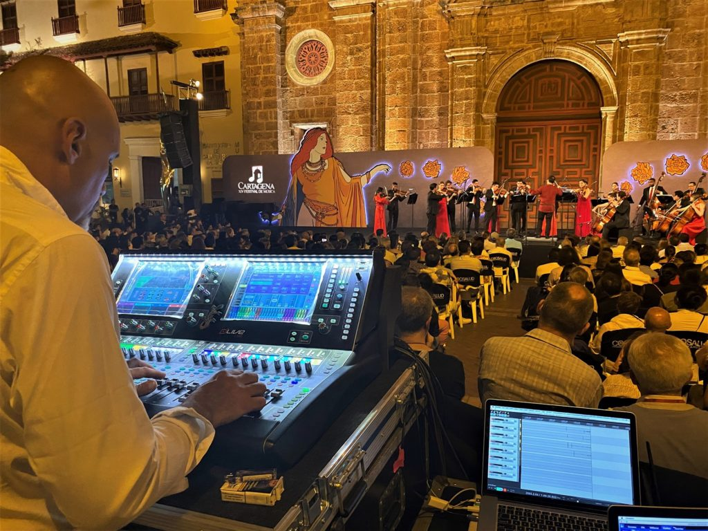 DLIVE & QU HEAD TO THE CARTAGENA INTERNATIONAL MUSIC FESTIVAL