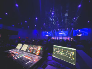 CSD hosts open house at The Summit Church: first global d&b 360-degree Soundscape church install and new audio, lighting, and video.