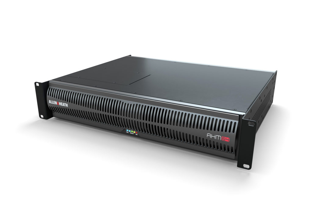 ALLEN & HEATH LAUNCHES AHM-64 AUDIO MATRIX PROCESSOR FOR SCALABLE INSTALLATION