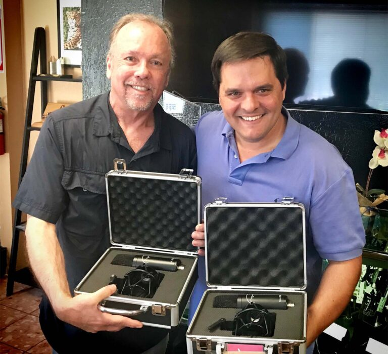 Mojave Audio Microphones Assume a Vital Role in the Production of Latin Grammy® Award-Nominated Recording