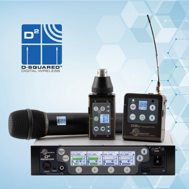Lectrosonics Introduces the DPR Digital Plug-on Transmitter and the DSQD/AES-3 Receiver