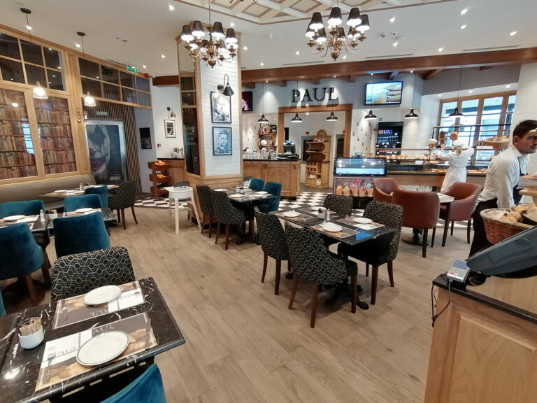 PAUL Restaurants in Baku has Second Helping of Martin Audio CDD