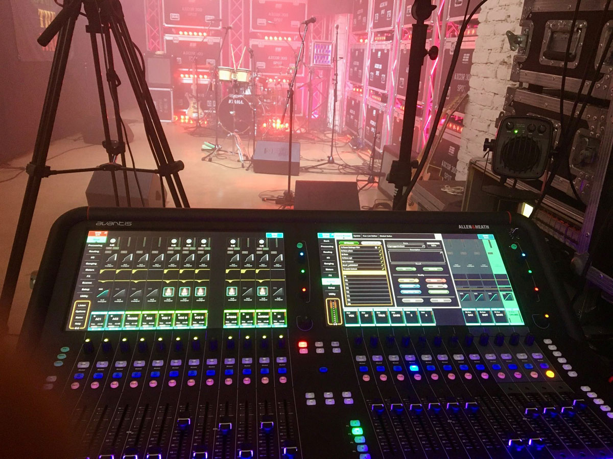 FROM WAREHOUSE TO TV STUDIO