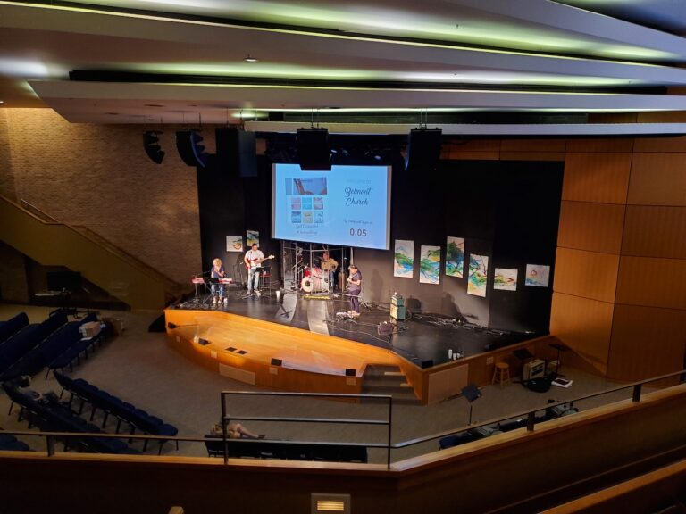 Belmont Church offers service loud and clear through d&b A-Series.
