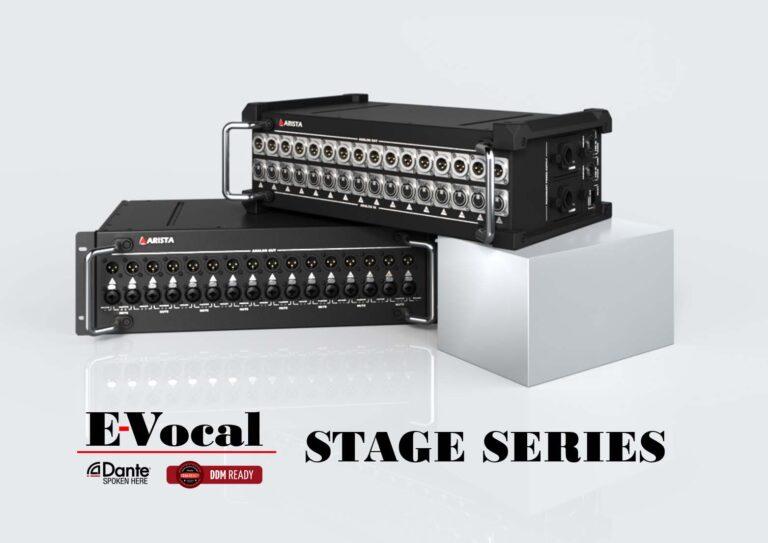 ARISTA Corporation Announces E-Vocal® ARS-1616S Series Stage Interfaces