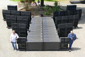 Vancouver's KiAN Concert Sound Services Grows with L-Acoustics K2/Kara System