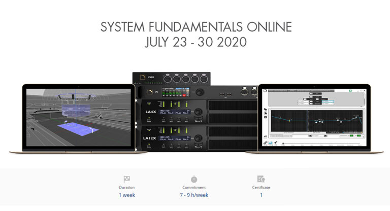 L-Acoustics Accelerates Plans for Blended Training with Online Education Platform