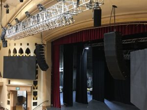 San Jose Civic is first Bay Area concert venue to house d&b KSL loudspeaker system.
