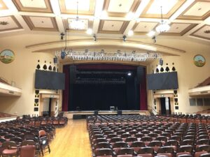 San Jose Civic is first Bay Area concert venue to house d&b KSL loudspeaker system.