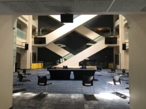 Calgary performing arts center is much more than music; recently installing a d&b loudspeaker system in spectacular lobby areas.