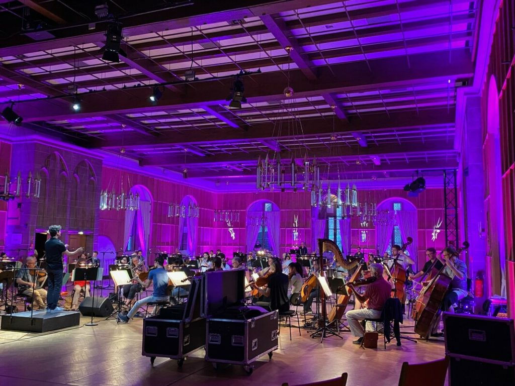 ORCHESTRAL STREAMING WITH DLIVE