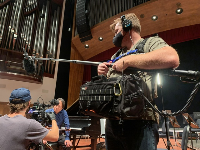 Sound Recordist Reid Mangan Captures PBS Great Performances Classical Music Series Now Hear This with Lectrosonics