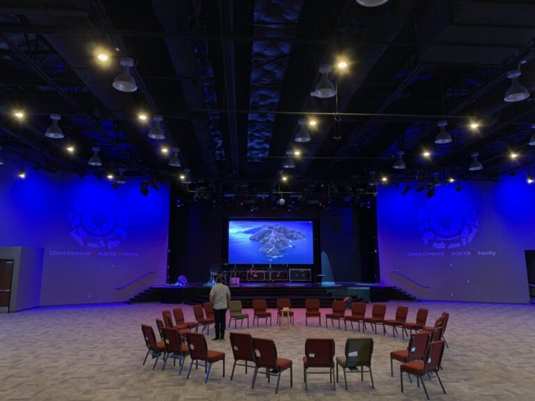 Nevada church chooses new d&b A-Series based on budget and performance.