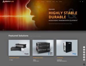 ARISTA Corporation Announces New Website