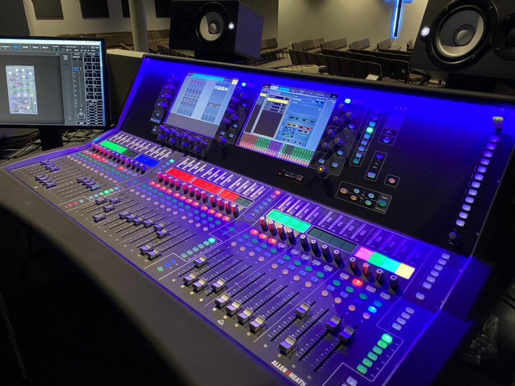 CHRIST CHURCH STEPS UP TO ALLEN & HEATH DLIVE