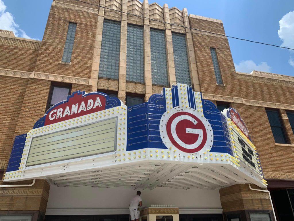 GRANADA THEATRE RENOVATION CENTERS AROUND ALLEN & HEATH SQ-7