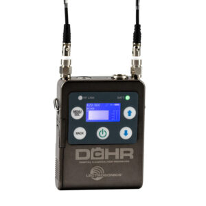 Lectrosonics Introduces the DCHR Miniature Stereo Digital Receiver