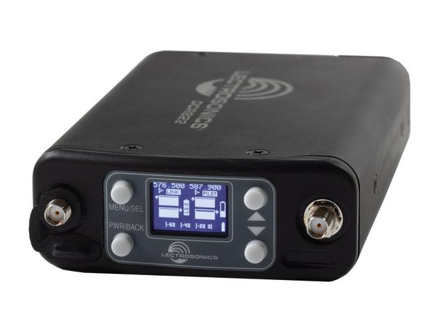 Lectrosonics Introduces the DCR 822 Dual Channel Portable Digital Receiver