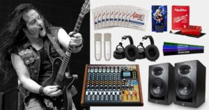 TASCAM Announces the TASCAM & Tommy Bolan Recording and Guitar Gear Giveaway Contest