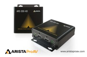 ARISTA Corporation Announces the ARS-200-HD and ARS-200-DH HDMI® Audio to Dante® Audio and Dante Audio to HDMI Audio Converters