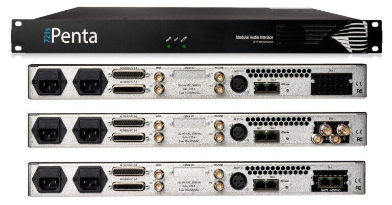 NTP Technology Penta 721s Audio Routers and Converters Are Now Shipping