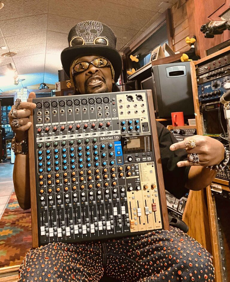 TASCAM Announces the TASCAM & Bootsy Giveaway