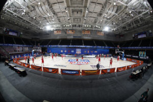 d&b audiotechnik provides crowd enhancement system for Maui Invitational.