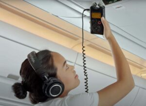 Chong the Nomad's Career Goes Airborne with Help from the TASCAM DR-40 Digital Audio Recorder