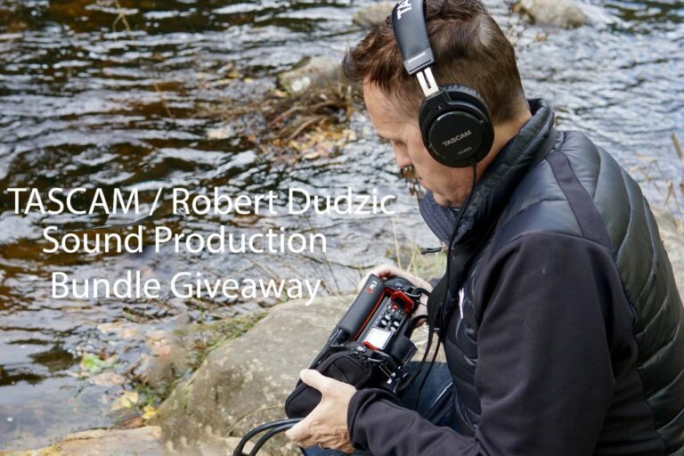 TASCAM and Sound Designer / Engineer Robert Dudzic Offer New Sound Production Bundle Giveaway