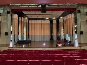 Duke Family Performance Hall upgrades aging sound system with d&b A-Series.