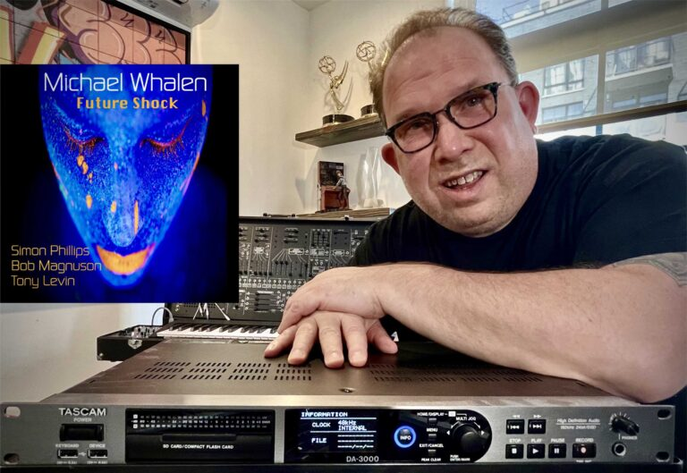 TASCAM Quality and Reliability Proves Crucial to Michael Whalen's Daily Workflow