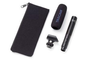 TASCAM Debuts the TM-200SG Shotgun Microphone