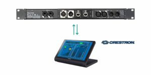 Neutrik Offers a Crestron Approved Module for their MIC, Line, AES Dante Adapter