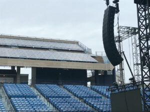 Westville Music Bowl installs first ever certified pre-owned d&b J-Series.