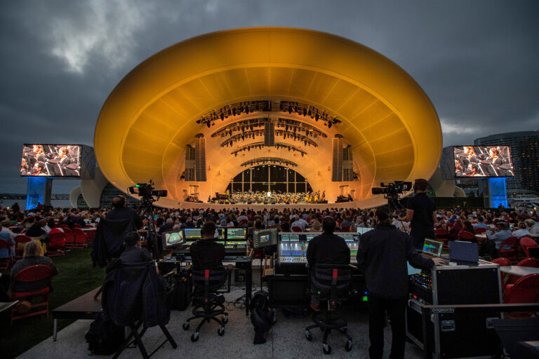 DiGiCo is the Pearl at the Heart of the Rady Shell at Jacobs Park