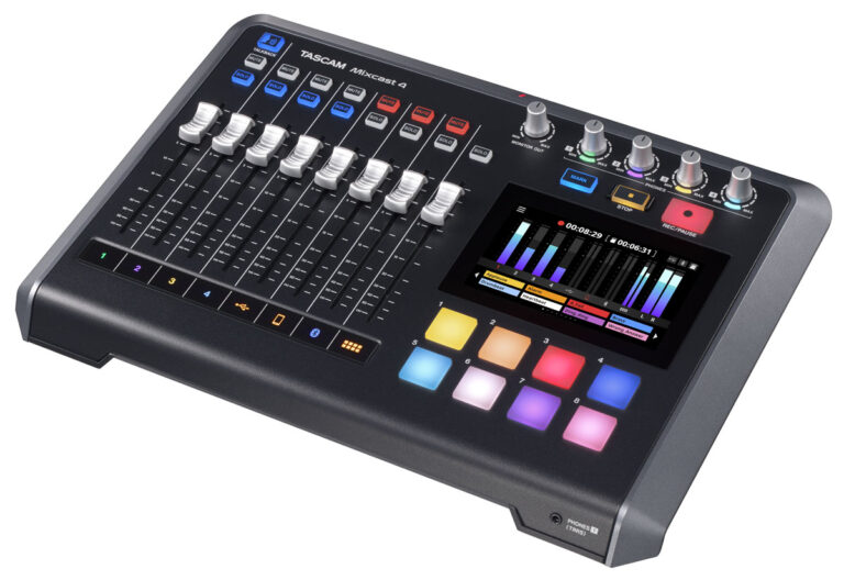 TASCAM Introduces the Mixcast 4 Podcast Station
