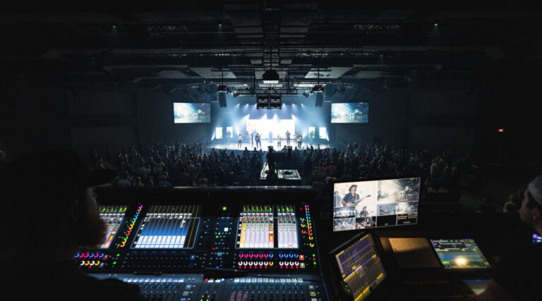DiGiCo Quantum338 Does the Work of Three Consoles at CityHope Church