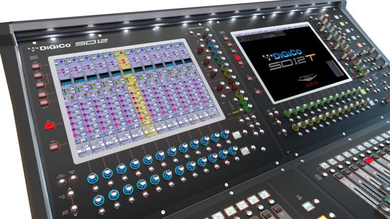 DiGiCo Reveals SD12T for Theatre at PLASA 2021