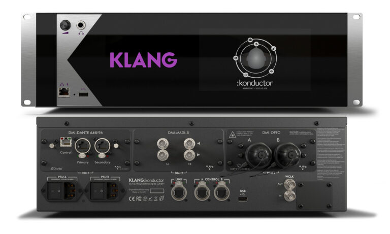 KLANG Announces New KLANG:konductor at PLASA 2021