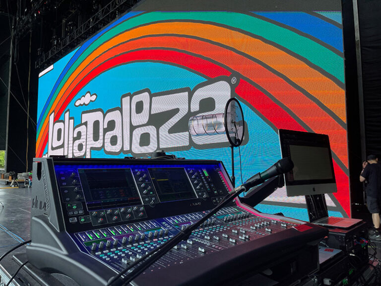 dLive Duo Powers Alt-Rock Act Grandson at Lollapalooza
