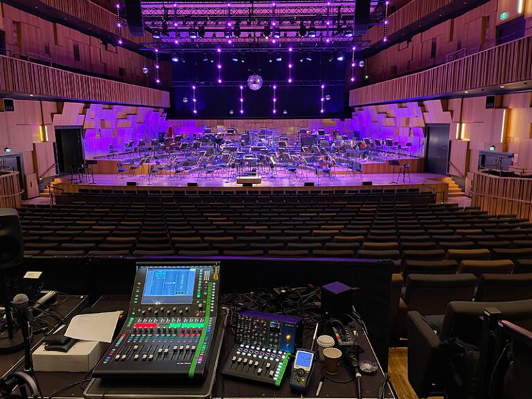 SWEDISH SOUND ENGINEERS GO ON ORCHESTRAL MANOEUVRES WITH DLIVE & PRIME PREAMPS