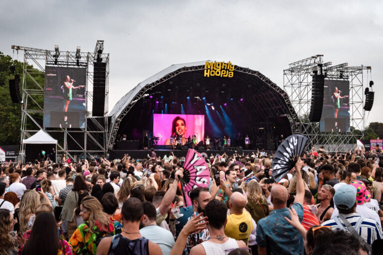 MLA Comes Alive for IDLES' Loud Lunchtime Headline Spot at Brockwell Park