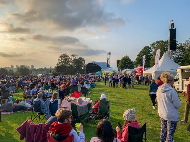 MLA Conquers The Notorious Hill at Historic Leeds Castle Concert